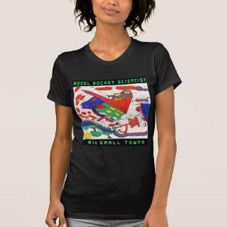Große Kleinstädte vorbildlichen Rakete T-Shirt