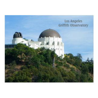 Große LA Griffith-Observatorium-Postkarte! Postkarten