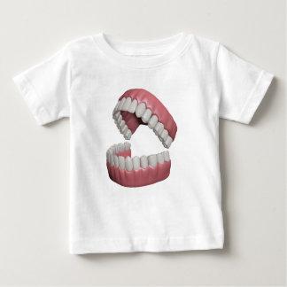 große Lächelnzähne Baby T-shirt