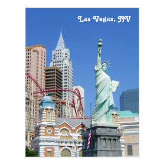 Große Las Vegas-Postkarte! Postkarte