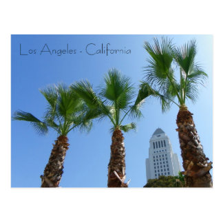 Große Los Angeles-Rathaus-Postkarte! Postkarten