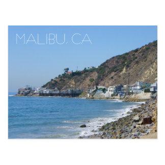 Große Malibu-Postkarte! Postkarte