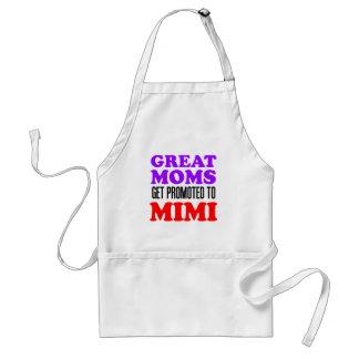 Große Mammen erhalten Mimi zur Großmutter-Schürze Schürze
