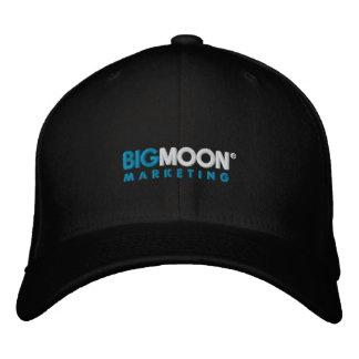 Große Mond-Marketings-LogoBaseballmütze Bestickte Kappe