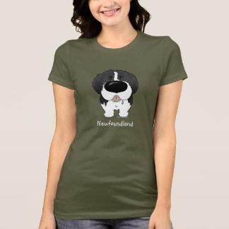 Große Nase Neufundland T-Shirt
