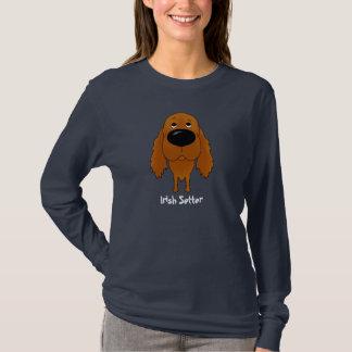 Große Nasen-Irischer Setter T-Shirt