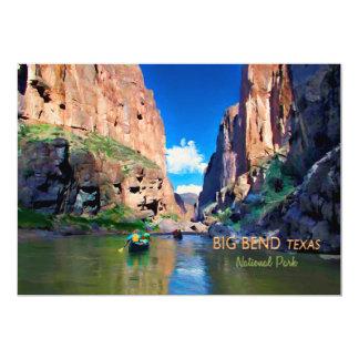 Große Nationalpark-Mariscal Schlucht 12,7 X 17,8 Cm Einladungskarte