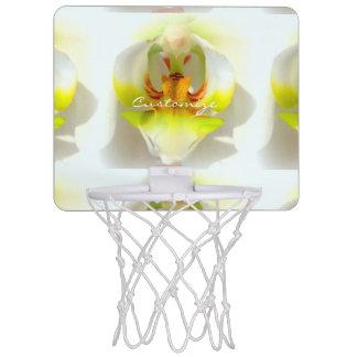 große Orchideennahaufnahme Thunder_Cove Mini Basketball Ring