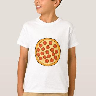 Große Pepperoni-Pizza-ganze Pizza, die Kunst Yum T-Shirt
