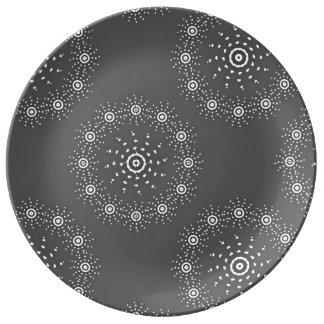 Große Porzellan-Platte Porzellanteller