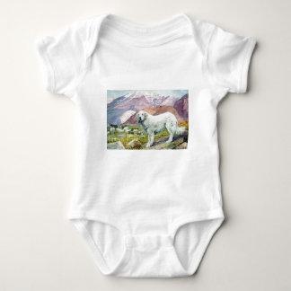 Große Pyrenäen Baby Strampler