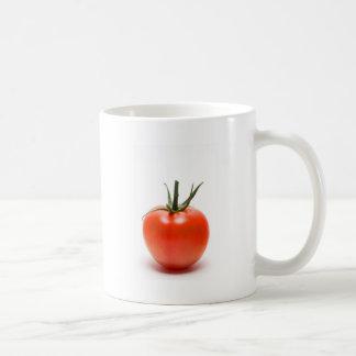 Große rote saftige Tomate Kaffeetasse
