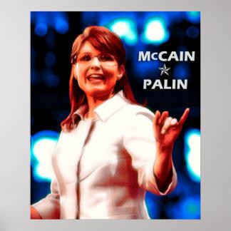 Große Sarah Palin Poster