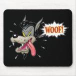 Große schlechte Wolf-Auflage Mousepad