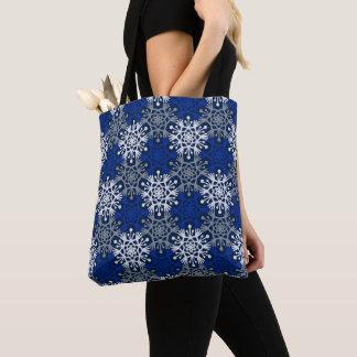 Große Schneeflocke-Mod-Winter-Tasche Tasche