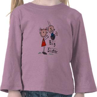 Große Schwester-kleiner Bruder-T-Shirts und Gesche