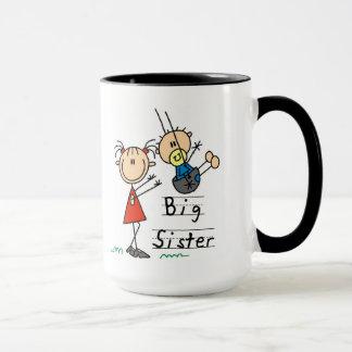 Große Schwester-kleiner Bruder-T - Shirts und Tasse