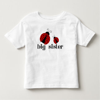 Große Schwester-Marienkäfer Kleinkinder T-shirt