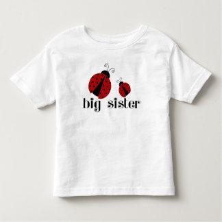Große Schwester-Marienkäfer Hemd