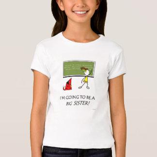 Große Schwester-T - Shirt für neues Baby-Mädchen