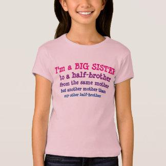 Große Schwester zum Halbbruder T-Shirt