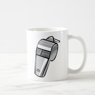 Große silberne Pfeife Kaffeetasse