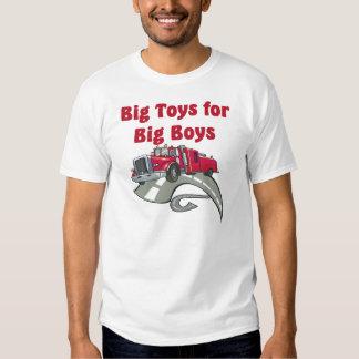 Große Spielwaren für großen Jungen-LKW-Fahrer-T - Hemd