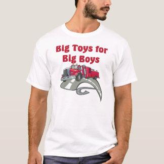 Große Spielwaren für großen Jungen-LKW-Fahrer-T - T-Shirt