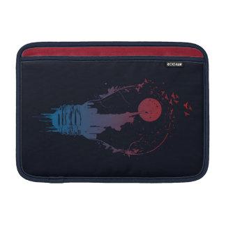 Große Stadt beleuchtet II (Dunkelheit) Sleeve Fürs MacBook Air