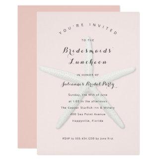 Große Starfish-Brautjungfern-Mittagessen-Einladung 12,7 X 17,8 Cm Einladungskarte