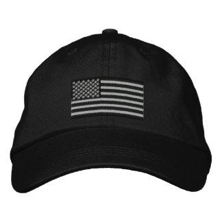Große Stickerei amerikanische Flagge USA Baseballmütze