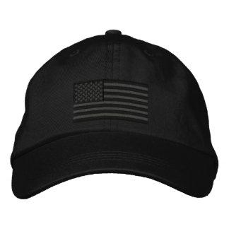 Große Stickerei amerikanische Flagge USA Bestickte Kappen