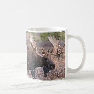 Große Stier-Elche Kaffeetasse