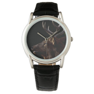 Große Stier-Elche Uhr