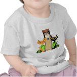 Große streunende Katzen T-Shirts