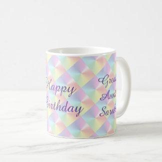 Große Tante Birthday Diamond Shimmer Mug durch Tasse