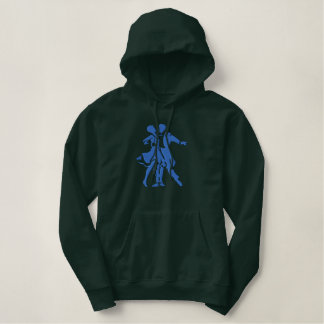 Große Tanz-Silhouette Hoodie