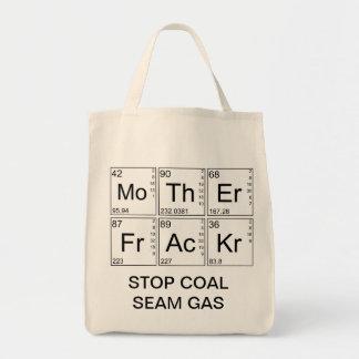 Große Tasche - Mutter Fracker - STOPPEN Sie
