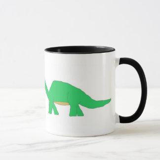 Große u. kleine Dinosaurier-Tasse Tasse