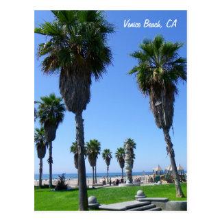 Große Venedig-Strand-Postkarte! Postkarte