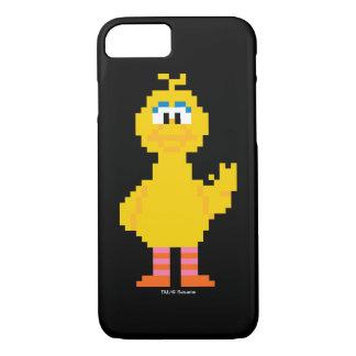 Große Vogel-Pixel-Kunst iPhone 8/7 Hülle