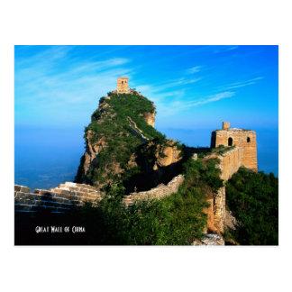 Große Wand der China Postkarten