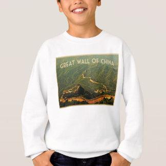 Große Wand der China Sweatshirt