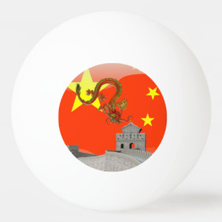 Große Wand der China Tischtennis Ball