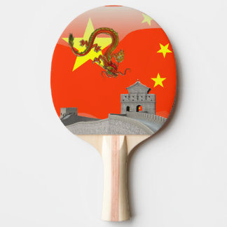 Große Wand der China Tischtennis Schläger