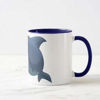 Große weißer Haifisch-Tasse Tasse