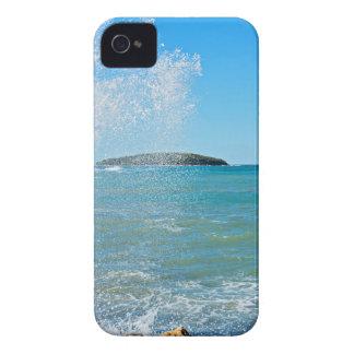 Große Welle auf dem blauen Meer iPhone 4 Case-Mate Hüllen