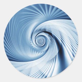 Große Welle Runde Sticker