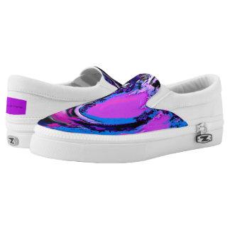 Große Welle Digital Slip-On Sneaker