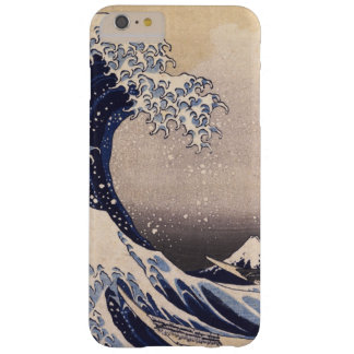 Große Welle durch Hokusai, Vintage japanische Barely There iPhone 6 Plus Hülle